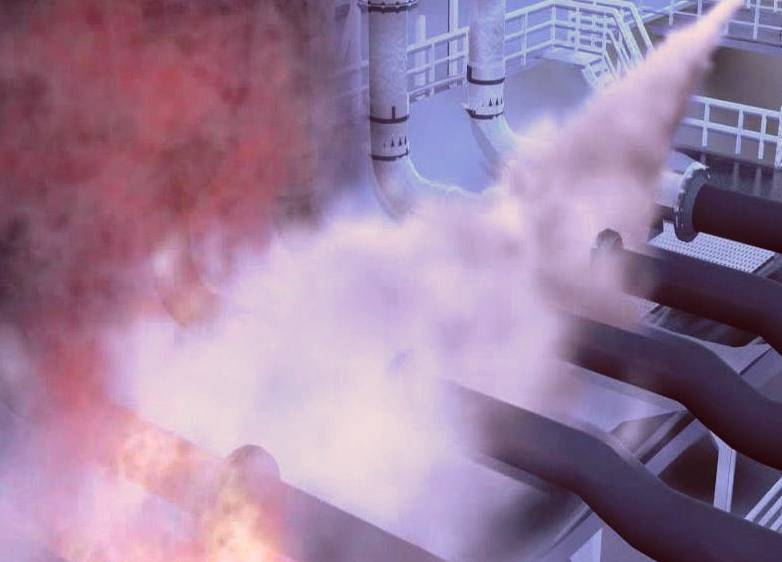 dry chemical fire suppression system