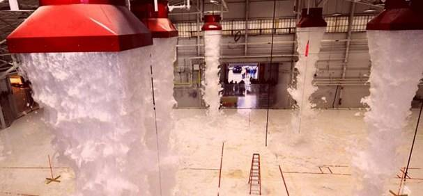 foam flooding system